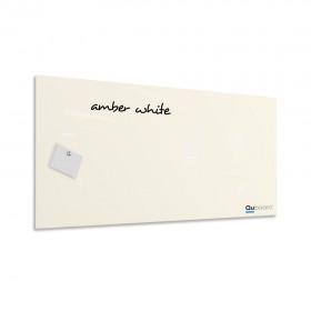 Jantárová biela magnetická sklenená tabuľa LABŌRŌ