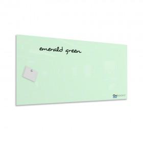 Smaragdovo zelená magnetická sklenená tabuľa LABŌRŌ