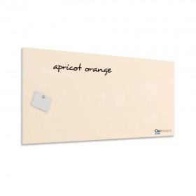 Marhuľovo oranžová magnetická sklenená tabuľa LABŌRŌ