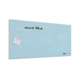 Azúrová modrá magnetická sklenená tabuľa LABŌRŌ