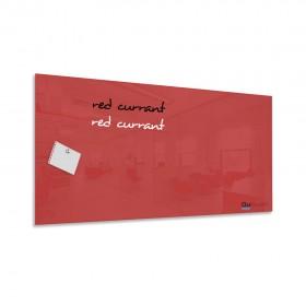 Ríbezľovo červená magnetická sklenená tabuľa LABŌRŌ