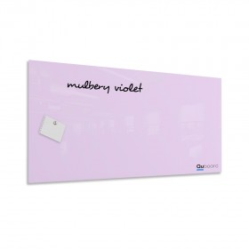 Morušová fialová magnetická sklenená tabuľa LABORO