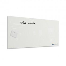 Polárna biela magnetická sklenená tabuľa LABORO
