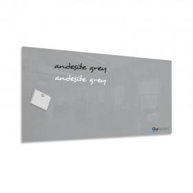 Andezitová šedá magnetická sklenená tabuľa LABŌRŌ